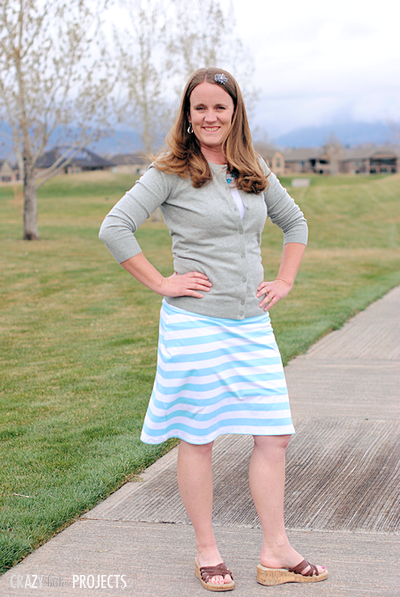 Comfy Day Free Skirt Pattern