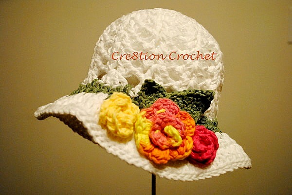 Colorful Spring Hat Allfreecrochet Com