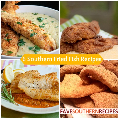 Southern Fried Fish Recipes