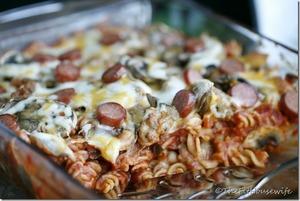 Healthy Pizza Casserole