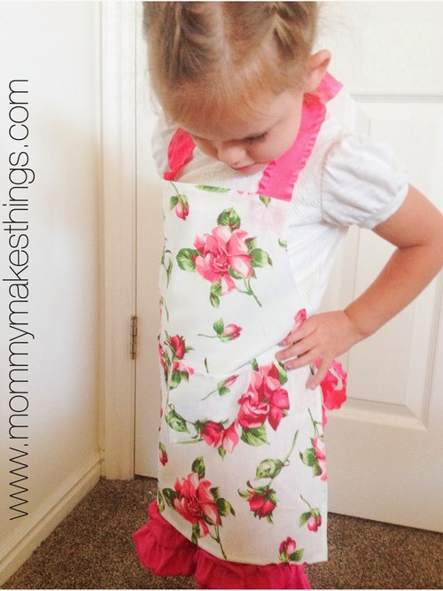 No-Sew Aprons for Kids