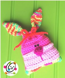 Rebel Rabbit Crochet Bag