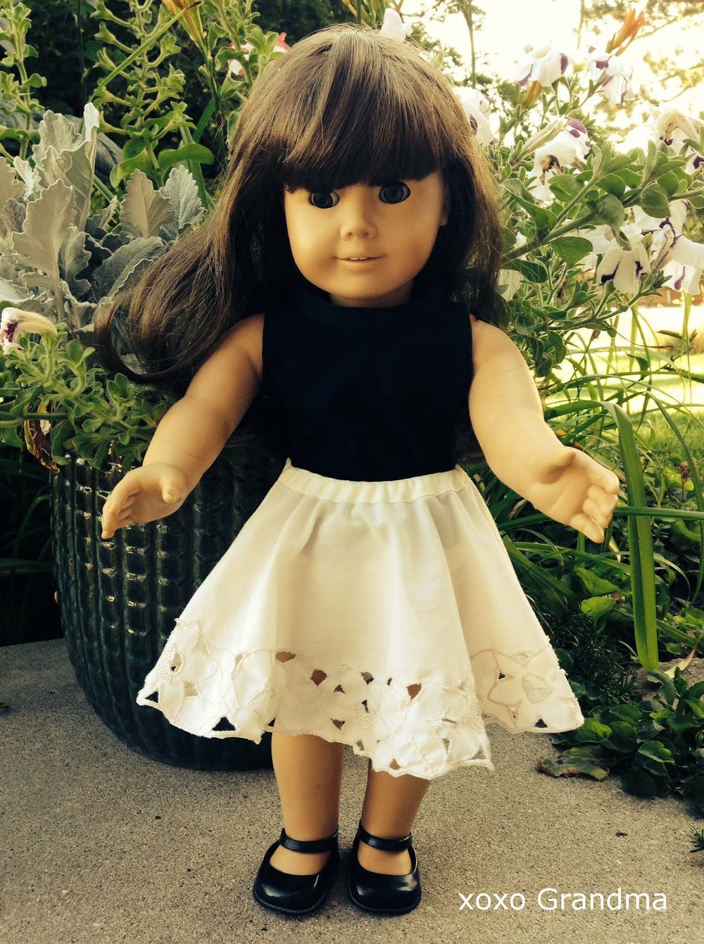 Lacy Diy Doll Clothes Allfreesewing Com