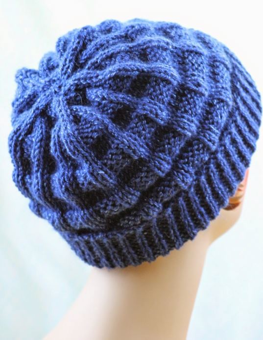 Deep Sea Starfish Knit Hat