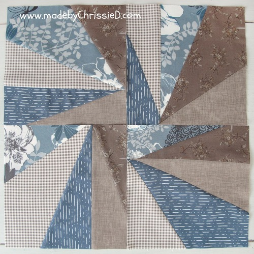 Sliced Improv Quilt Block Pattern