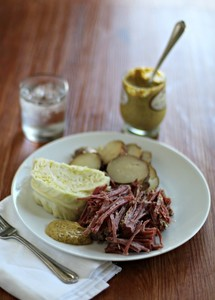 St. Paddy's Slow Cooker Corned Beef and Cabbage