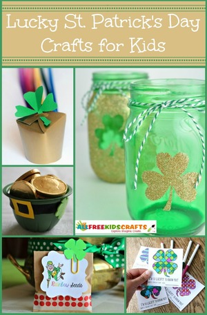 38 Lucky St. Patrick's Day Crafts for Kids