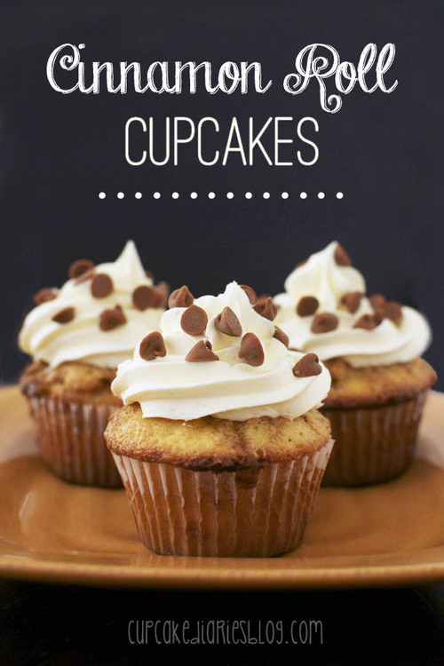 Shortcut Cinnamon Roll Cupcakes