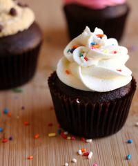 One-Bowl Devil's Food Cupcake