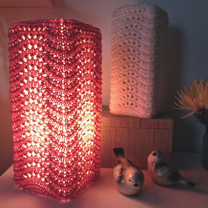 Knit Lamp Shades