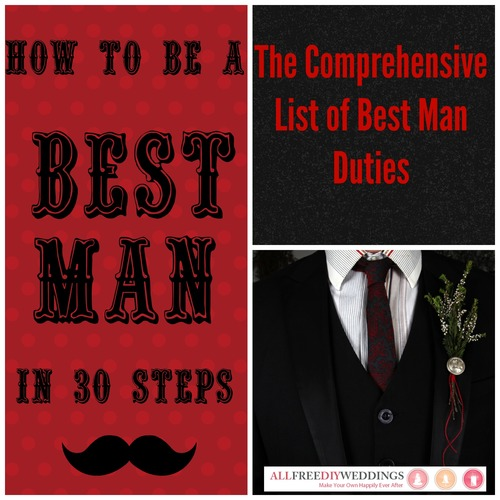 best man duties allfreediyweddings com