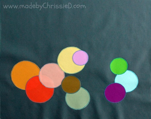 Soothing Circles Raw Edge Applique