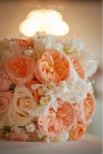 Pink and Cream Vintage Bouquet