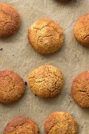 Ginger Snickerdoodle Cookies
