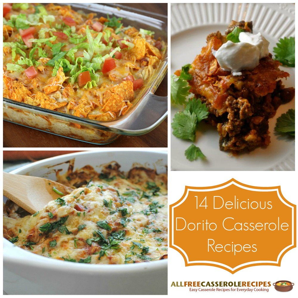 Simple Casserole Recipes: 14 Delicious Dorito Casserole Recipes