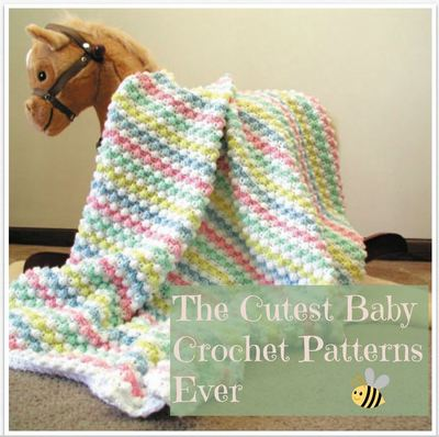 400 of the Cutest Baby Crochet Patterns Ever