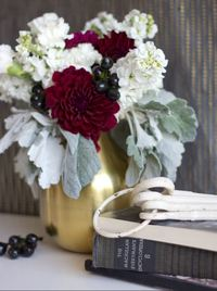 Breathtaking Marsala DIY Centerpiece