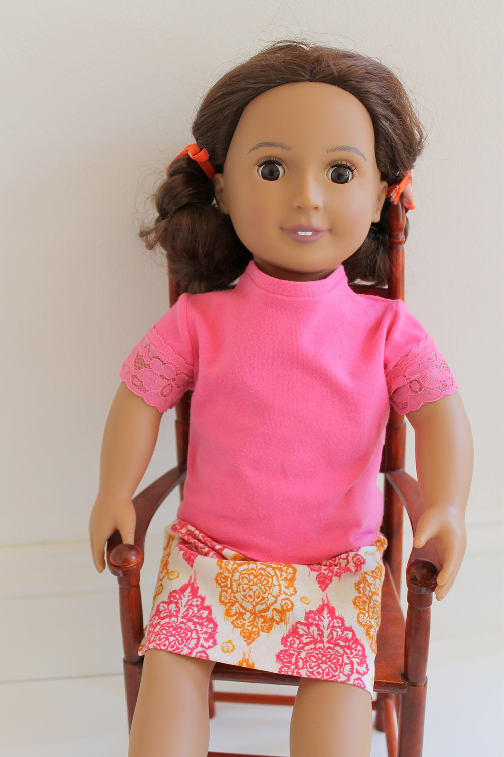 American Girl Doll Knit Shirt Allfreesewing Com