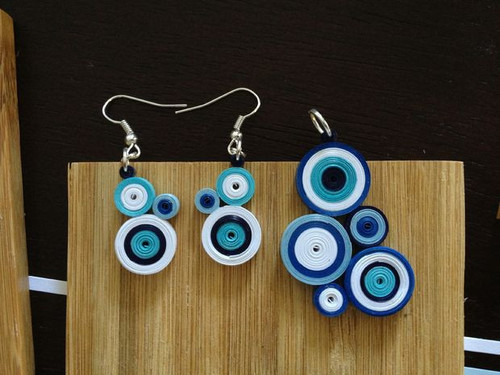 Chic Quilled Paper Jewelry
