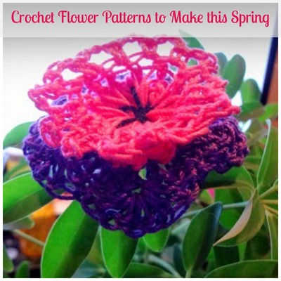 68 Crochet Flower Patterns to Make this Spring