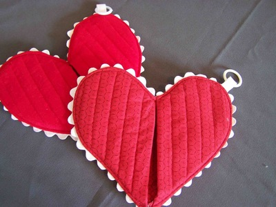 OR TRIVET Details about  / BEAUTIFUL HEART HOT PAD.