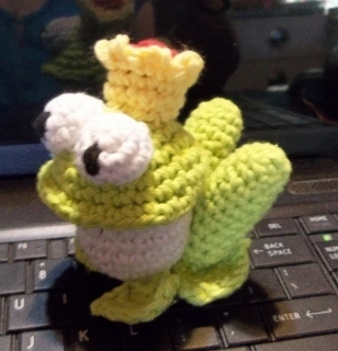 Your Own Crochet Frog Prince
