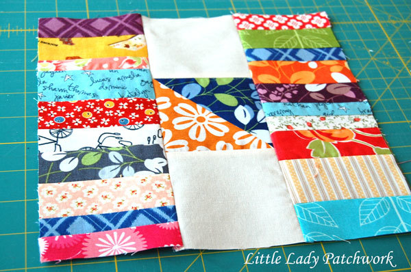 Stacks & Stacks of Scraps Quilt Block