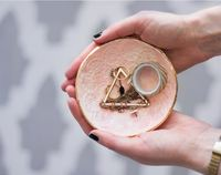 Luxurious Clay Jewelry Dish