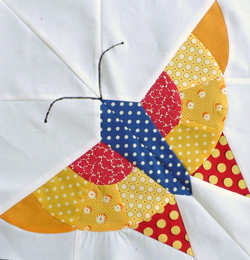 Alice Brooks Butterfly Block