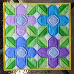 Flower Power Quilt Block