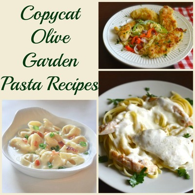 Copycat Olive Garden Pasta Recipes