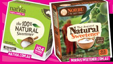 Natvia Natural Sweetener Set