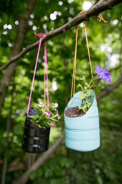The Easiest DIY Planters Ever