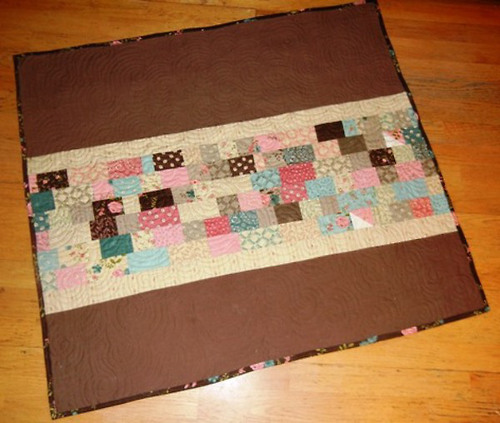 Stack of Bricks Charm Pack Quilt