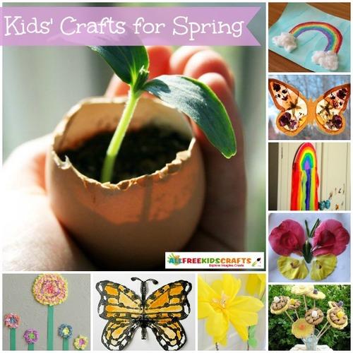 38 Kids' Crafts for Spring