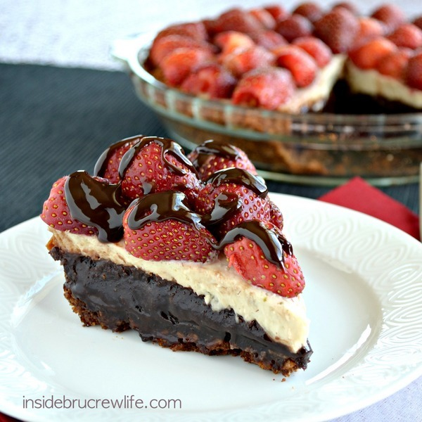Banana Split Brownie Pie Thebestdessertrecipes Com