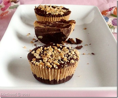 Perfect Chocolate Peanut Butter Cups