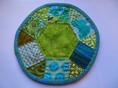 Scrappy Paper Pieced Mug Rugs
