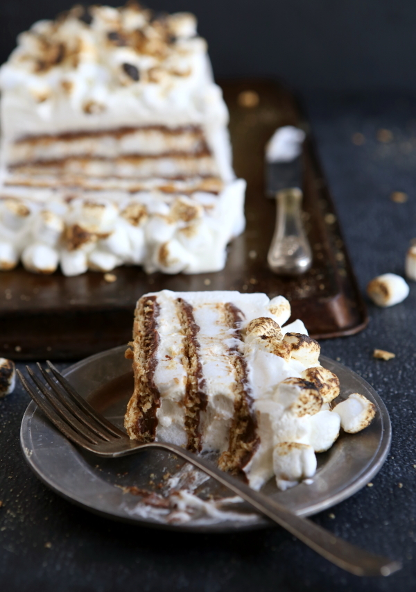 The Perfect S'mores Icebox Cake