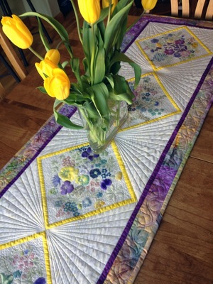 Wildflower Table Runner