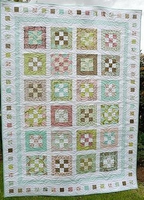 Groves of Gardens Nine Patch Quilts
