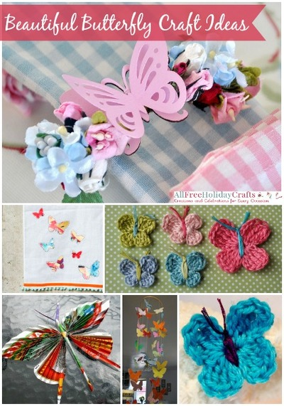 butterfly craft ideas 37 beautiful butterfly craft ideas allfreeholidaycrafts 1190