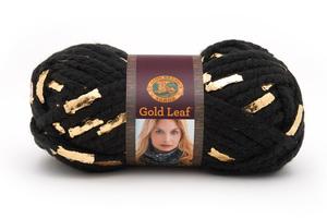 Lion Brand Gold Leaf Yarn