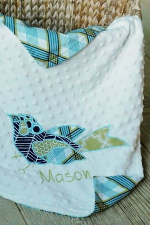 Applique Baby Blanket