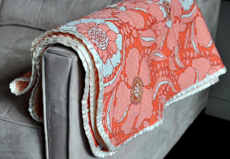 Heirloom Cut Chenille Baby Blanket Allfreesewing Com