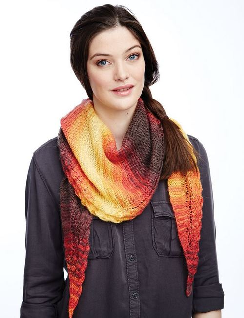 Grand Canyon Sunset Shawl
