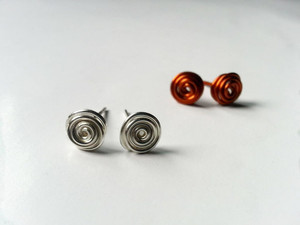 Swirly Stud DIY Earrings