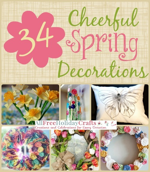 34 Cheerful Spring Decorations