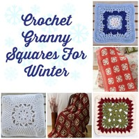 Crochet Granny Squares for Winter