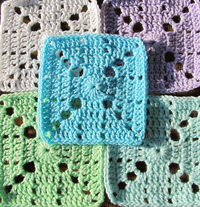Crochet Granny Squares to Make in 2015